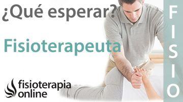 ¿Qué puedo esperar de mi fisioterapeuta?