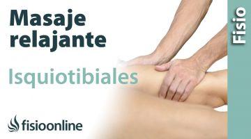 CÓMO HACER un masaje relajante de isquiotibiales en la pierna