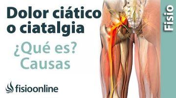 ¿Qué es la ciática o ciatalgia y cuáles son sus causas?
