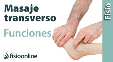 1.Masaje transverso profundo de Cyriax para tendinitis y roturas de fibras.