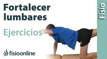 Ejercicio de tonificación o fortalecimiento  para los músculos de la espalda y lumbares.