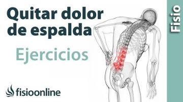 Rutina de ejercicios para el dolor de espalda