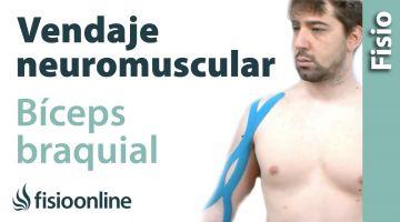 Cómo relajar el bíceps braquial con vendaje neuromuscular