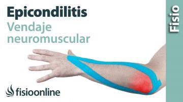17 Kinesiostape para la epicondilitis