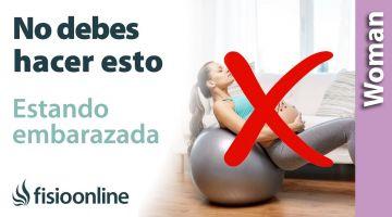Ejercicios que no debo hacer embarazada para no dañar el abdomen. Evita la diastasis abdominal.