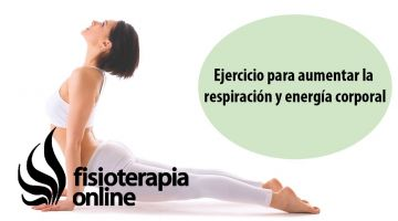 Ejercicio para aumentar la respiración y energía corporal.