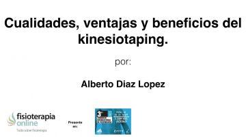 Cualidades, ventajas y beneficios del Kinesiotaping