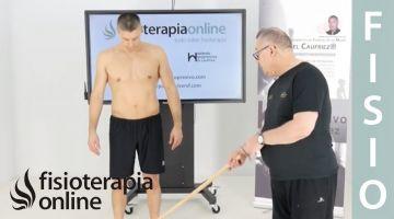 Primer ejercicio ortoestático programa base, etapa 1