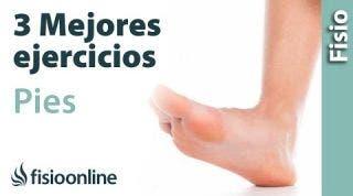 Los 3 MEJORES ejercicios para los PIES. Mejora tus dolores de pies