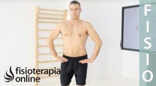 Primer ejercicio ortoestático programa base, etapa 7