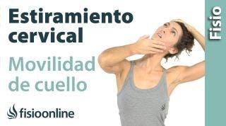 6.Auto - estiramiento cervical en rotación.
