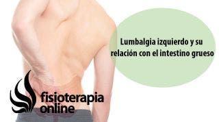 Lumbalgia o lumbago izquierdo y su relación con el i  grueso y colon irritable