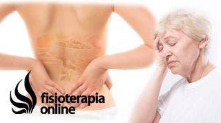 Estrés, dolor de espalda y nutrición.