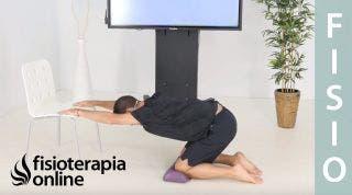 Flexibilización de brazos para evitar la cifosis dorsal o chepa