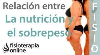 Sobrepeso y obesidad y su relación con la nutrición