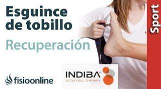Acelera la recuperación de un esguince de tobillo con INDIBA ACTIV