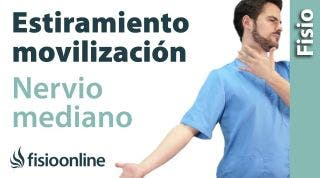 Estiramiento y movilización del Nervio Mediano.