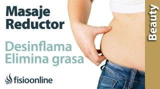Cómo hacer un masaje reductor de vientre (deshinchar y eliminar grasa)