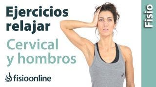 Ejercicio para relajar cervicales y hombros. Isométricos de cuello.