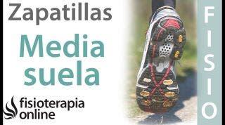 Partes de una zapatilla  Media Suela