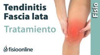 Tendinitis de la fascia lata. Tratamiento con ejercicios auto-masajes y estiramientos.