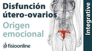 Origen emocional de la disfunción de útero- ovarios.