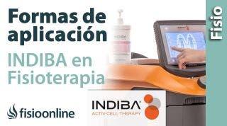 Cómo debe aplicar un fisioterapeuta un tratamiento con INDIBA ACTIV