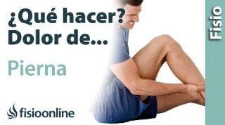¿Qué puedo hacer para solucionar mi dolor de piernas? Claves, consejos, tips y ejercicios