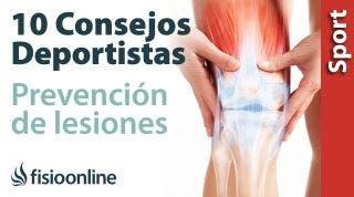 10 factores a tener en cuenta para la prevención de lesiones deportivas