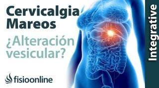 Tratamiento para dolor cervical con mareos provocado por una alteración de la vesícula biliar