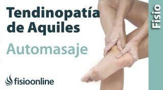Auto-masaje para mejorar la tendinitis del Aquiles