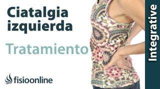 Tratamiento ciática o ciatalgia izquierda