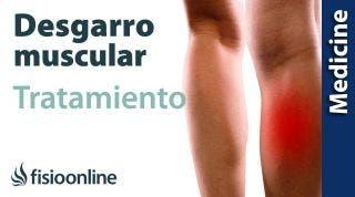 Protocolo de tratamiento de los desgarros musculares desde el punto de vista médico