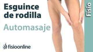 7. Auto-masaje para el esguince de ligamento lateral interno de rodilla.