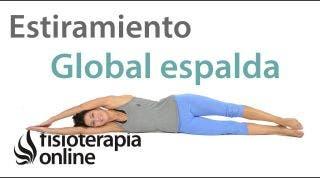 11.Estiramiento lateral del tronco, brazo y pierna.