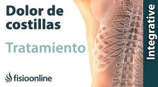 Tratamiento del dolor de costillas o de la parrilla costal