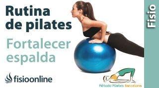 Ejercicios de Pilates para Fortalecer la espalda
