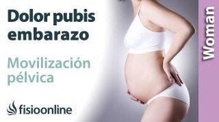 Dolor de pubis en el embarazo. 3 ejercicios de movilización pélvica para aliviarlo