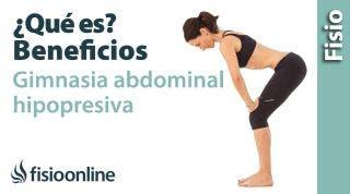 Gimnasia abdominal hipopresiva - ¿Qué es y cuáles son sus beneficios?