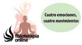 Cuatro emociones, cuatro movimientos.