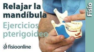 Ejercicios de Relajación del Pterigoideo medial. (ATM)