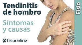 ¿Qué es la tendinitis de hombro o supraespinoso y cuáles son sus síntomas y causas?