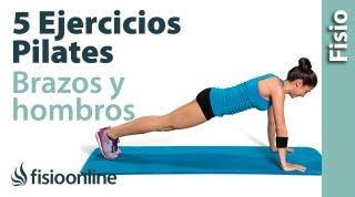 5 ejercicios de Pilates para fortalecer brazos y hombros
