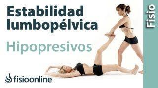 Hipopresivos y estabilidad lumbopélvica