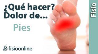 ¿Qué puedo hacer para solucionar mi dolor de pies? Claves, consejos, tips y ejercicios