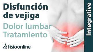 Tratamiento para dolor muscular y lumbar provocado por una alteración de vejiga