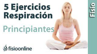 Ejercicios fáciles de Respiración | GUIA PARA PRINCIPIANTES