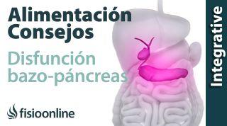 Alimentación, nutrición y consejos dietéticos para la disfunción de bazo-páncreas.