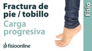 2.Carga y apoyo progresivo de los pies.