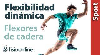 Flexibilidad dinámica, flexores de cadera en deportistas